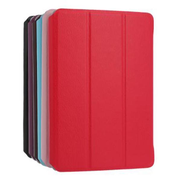 Tre Gånger Design Folio Ställ Läderfodral Skydd Påsen för iPad Mini iPad Tillbehör