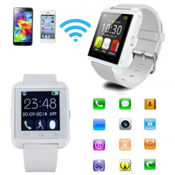 Touch Screen Bluetooth Armbandsur Sync för iPhone Ios Android