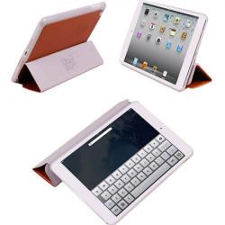 Tri fach Folio PU Leder Klappständer Hülle für iPad Mini Tablet PC