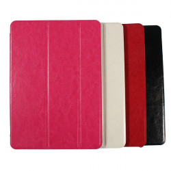 Tri-fold Slim Leather Case Smart Sleep Stand For iPad Air