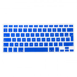 UK / EU Silicone Tastatur Cover Beskyttelse Film til Macbook