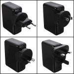 USB Wall Ac Laddare Adapter för iPhone Smartpohone Device iPhone 5 5S 5C