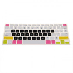 Us Multi Color Silikon Tangentbord Cover för Macbook Pro