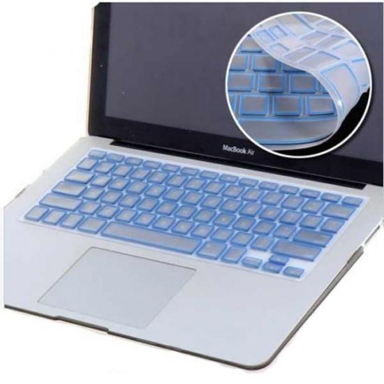 US Silizium Tastatur Schutz Haut Abdeckung für Macbook Pro 2021
