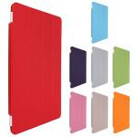 Ultratunn Läder Magnetisk Ställ Dvala Smart Fodral för iPad Air 2 iPad Tillbehör
