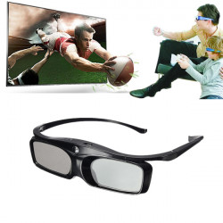 Ultra Clear 3D DLP-Link Ready Projector Active Shutter 3D Glasses