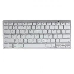 Ultra Thin Mini Wireless Bluetooth Keyboard For iPad iPhone Mac