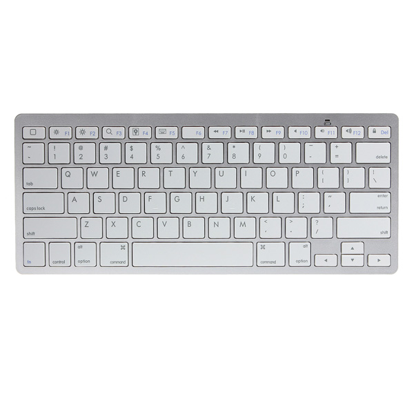 Ultra Tynd Mini Trådløs Bluetooth Tastatur til iPad iPhone Mac iPad Tilbehør