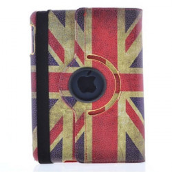 United Kingdom Flag Grain Pattern Protector Case Cover For iPad Air