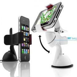 Universal 360 Degree Rotating Trochal Disc Bracket For iPhone 4S GPS