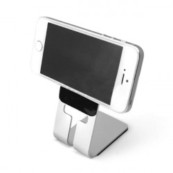 Universal Aluminumfodral Hållare Ställ  för iPhone Smartphone