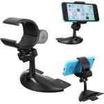 Universal Bil CD-Slot Mount Mobile Cups Hållare Ställ för iPhone Adaptrar & Kablar