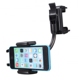 Universal Car Rear View Mirror Mount Stand Holder For iPhone Cellphone