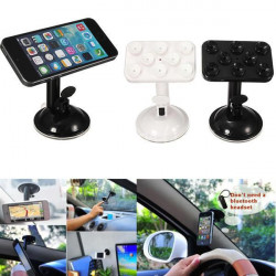Universal Car Windshield Sucker Mount Holder For iPhone Smartphone