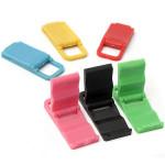 Universal Sammenfoldelig Mini Stativ Holder til iPhone Samsung Kabler & Adaptere