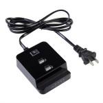 Universal Us Plug Mini Dual USB Port Laddstationen för iPhone iPhone 5 5S 5C
