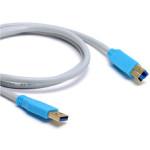 Konventionen 2m USB Printer Kabel Wire Transfer Usb3.0 Datalinje för Mac Os MacBook Tillbehör