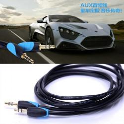 Konventionen Vab-C1 Aux 3m Bilstereo Kabel 3.5mm Hane till Hane för iPhone