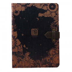 Vintage Style Elegant Appearance Protective Case Cover For iPad Air