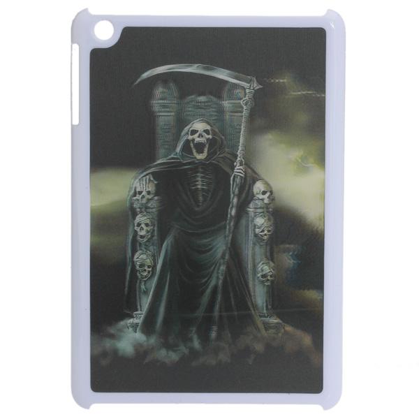Vivid Hemsk Döden 3D Effect Pattern Plast- Fodral för iPad Mini iPad Tillbehör