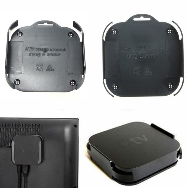 Väggfäste Konsollhållare för Apple TV 3 iPhone 5 5S 5C
