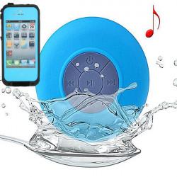 Vattentät Bluetooth-högtalare Stötsäker Höljes Combo för iPhone 4