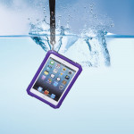 Vattentät Rensa Transparent Hård Fodral Skydd för iPad Mini iPad Tillbehör