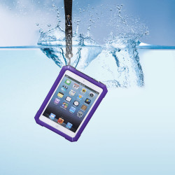 Waterproof Clear Transparent Hard Case Cover For iPad Mini