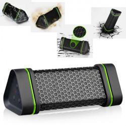 Vattentät Stötsäker Högtalare + Eu Nätadapter för iPhone