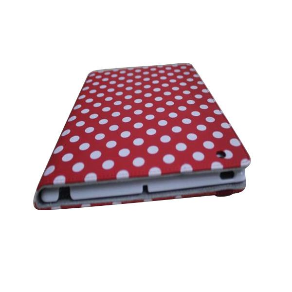 Wave Point Triple Folding Bumper Slim Ställ Smart Fodral för iPad 2 3 iPad Tillbehör