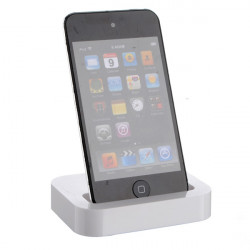 White Sync Dock Stand Station Cradle Charger for iPhone 4 3G