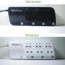 Wilink Intelligent Socket Smart Trådlös Manöverbrytare för iPhone