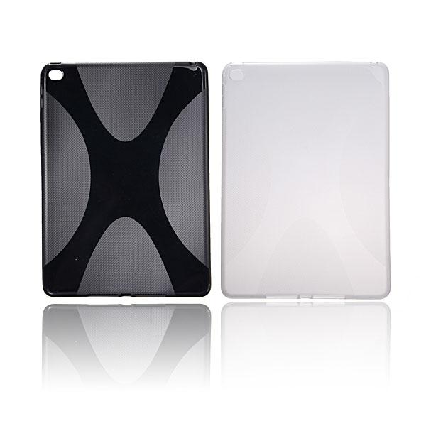 X Line Mjukt TPU Silikon Gel Bak Fodral Skydd för iPad Air 2 iPad Tillbehör