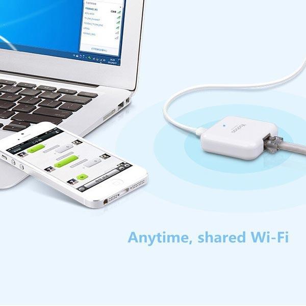 Yoobao YB-801 Trådlös Mini Router 3G Wi-Fi-router för iPhone PC Prylar
