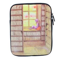 iPad 2 3 Zipper Design Jimmy Komisk Utsikt Mjuk Väska Påse