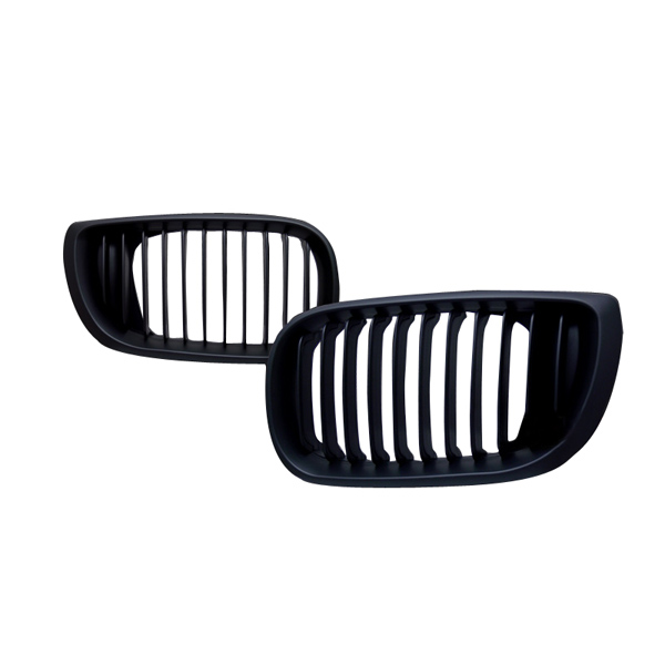 02-05 BMW E46 3 Series 4door Black Front Grill Auto Parts