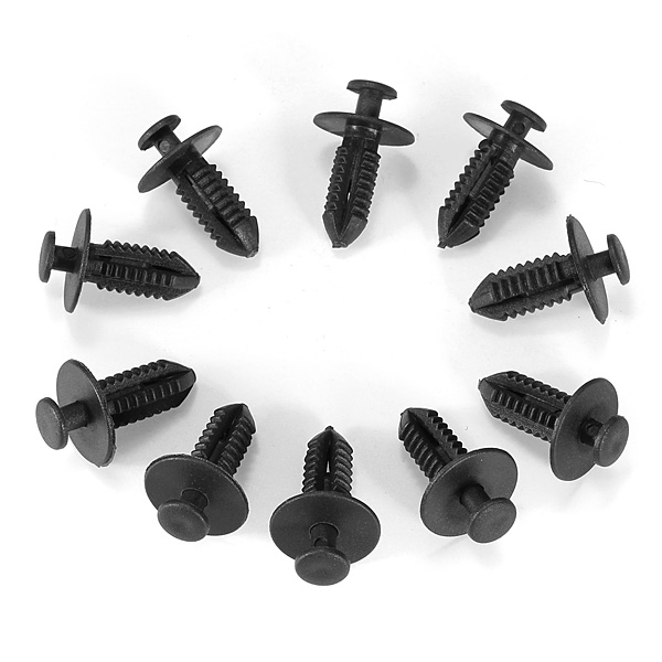 10x Fender Liner Rivet Trim Fastener Clip for 00-09 Mercedez Benz Auto Parts