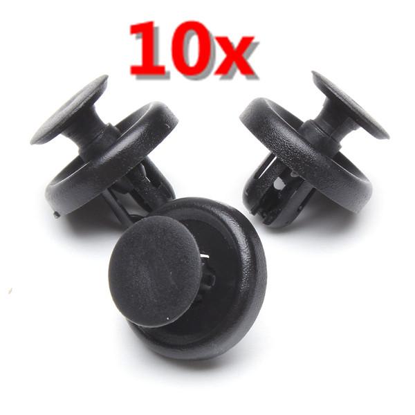 10xPlastic Klip Fastener for Toyota Lexus Wheel Arch Engine Shields Bildele