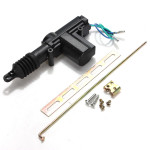 12V Car Auto Plastic Universal Heavy Duty Power Door Lock Actuator Auto Parts