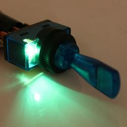 12V Licht beleuchtet Flick Kippschalter Auto Boots Armaturenbrett Panel