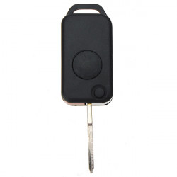 En Knapp Flip Fjärrnyckel för Benz W168 W124 W202