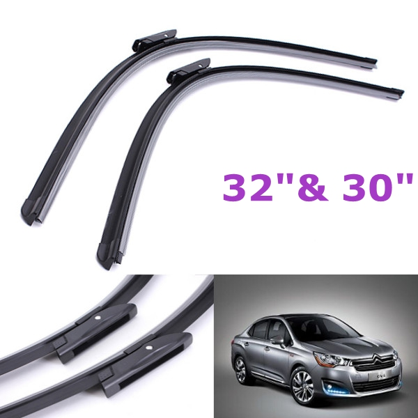 1 Pair Front Wiper Blades For Citroen C4 Grand Picasso 2009-Onwards Auto Parts