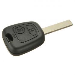 2 Button Blank Remote Shell Case Fob For Citroen C2 C3 C4 C5 Xsara