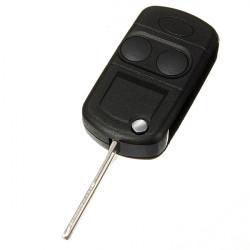 2 Knap Fjernbetjening Klapnøgler Shell Case for Land Rover Freelander MK1