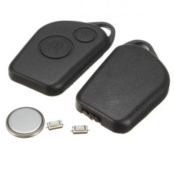 2 Button Remote Alarm Key Fob Case Kit For Citroen Saxo Picasso