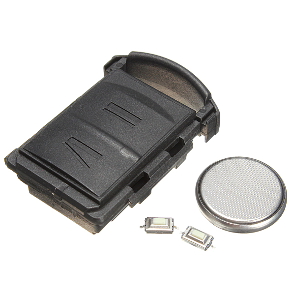 2 Button Remote Key Fob Repair Kit For Vauxhall Opel Corsa Combo Auto Parts
