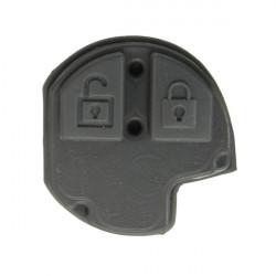 2 Button Rubber Pad For Suzuki GRAND VITARA SWIFT IGNIS ALTO SX4 Remote Key