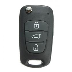 3bt Nyckelrings Remmote Fodral Shell Cover Blank för Kia Cerato Sportage