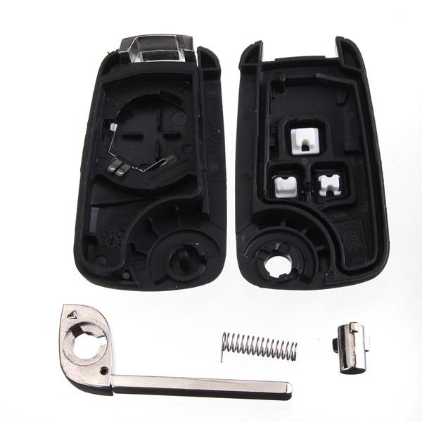 3 Knöpfe Funkschlüssel Reparaturanhänger Hülle Shell ungeschnittenes Blatt für Chevrolet Cruze Auto Teile