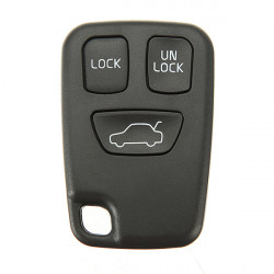 3 Buttons Remote Key FOB Case Shell Cover for VOLVO